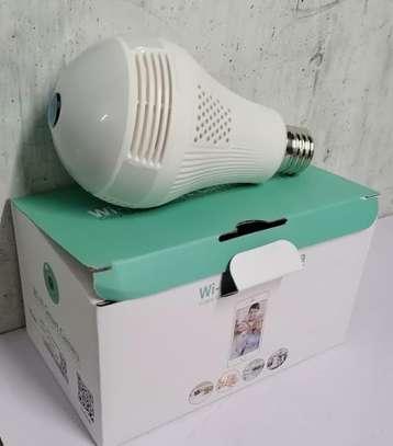 Wifi Nanny Camera Bulb image 1