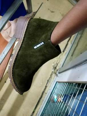 Ladies short ankle warm Velvet boots image 2