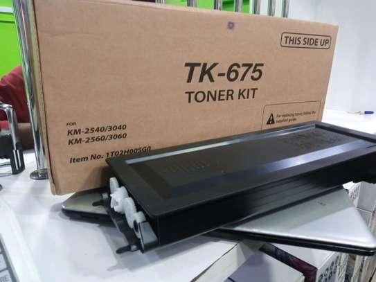 High Yield TK-675 Toner for kyocera KM-2560 image 1