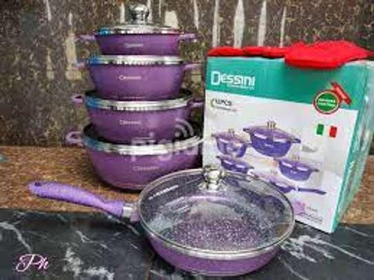 Dessini Granite Non Stick Cookware Set 12pcs image 4