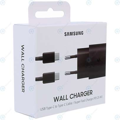 Original Samsung Super Fast Charge 25W UK Plug Travel Adapter with Type-C to USB C Cable for Samsung S20/S20+/S20 Ultra,S21/S21+/S21 Ultra Note 20/Note 20 Ultra image 7