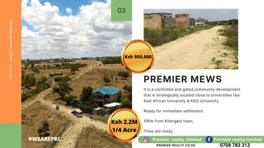 Selling prime plots in Korompoi for immediate development and at KAG University. image 2