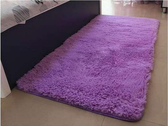 BED SIDE FLUFFY CARPET image 3