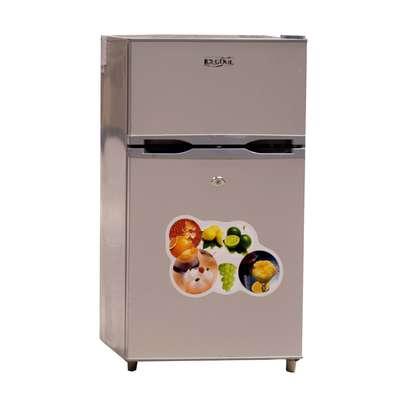 Icecool mini double door fridge image 1
