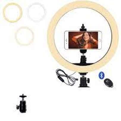 12 inch studio led ring light for live stream/makeup/youtube video image 1