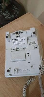 Landline Phone - Panasonic KX-T2375MXW image 1