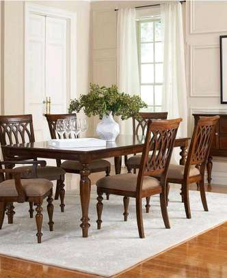 Antique dinning table image 1