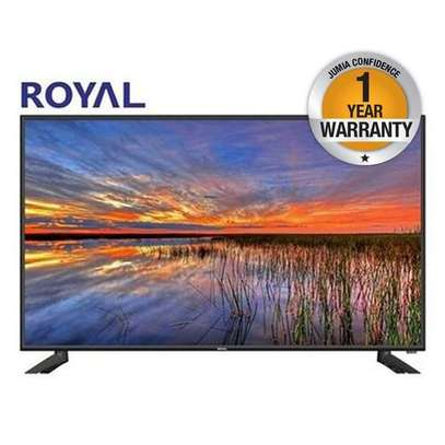 "Royal 24"" led digital tv set, hdmi,usb image 1"