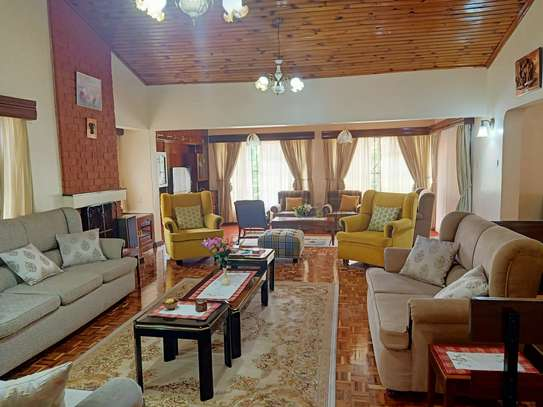Furnished 4 bedroom house for rent in Gigiri image 14