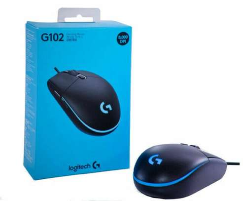 Logitech G102 USB Wired Gaming 8000 DPI Mouse
