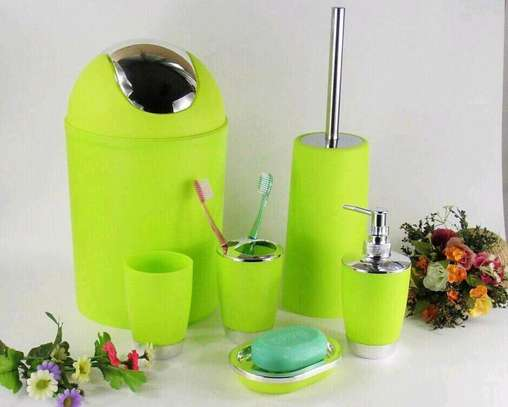 Bathroom set /bathroom organizer image 1