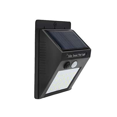 20-LED Wireless Motion Sensor Solar Light Wall Lamp