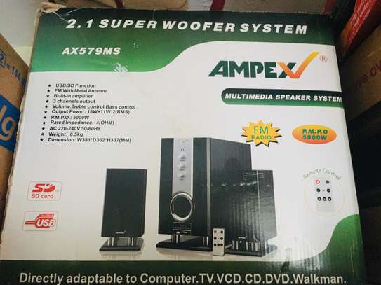 AMPEX Super woofer system