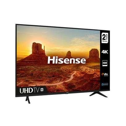 "Hisense - 55"" UHD 4K LED Smart TV - Black - Frameless With Bluetooth image 1"