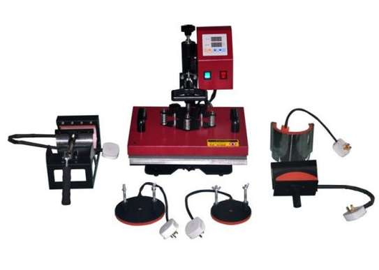 High Quality 8 In 1 Combo Heat Press Machine. image 1