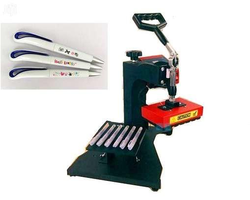 6 Slots Pen HEAT PRESS MACHINE image 1