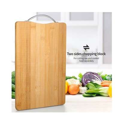 Wooden Bamboo Cutting And Chopping Board image 1