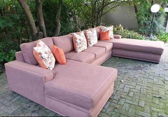 U shape sectional sofa image 2