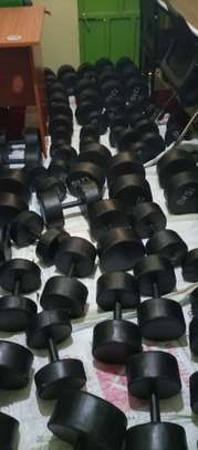 Gym dumbbells image 2