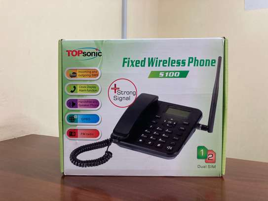 Topsonic Home/Office Wireless Desktop phone image 1