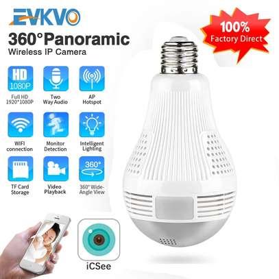 360° Panoramic Wifi 1080P IP Wireless Camera* image 1
