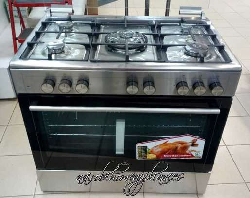 SIMFER 5 GAS BURNER COOKER(FULL ELEC  OVEN) image 1