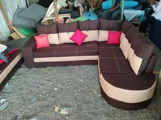 L- Shaped Sofa Set image 2