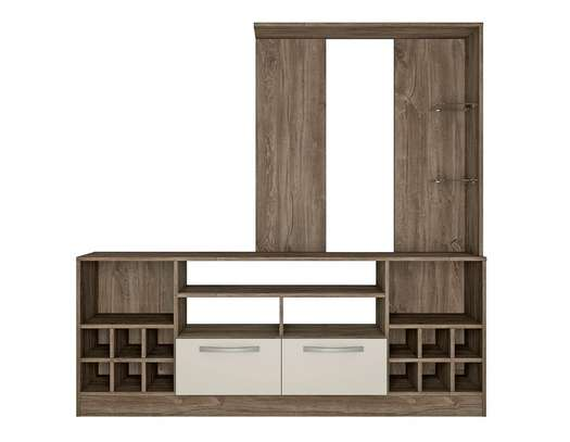 tv unit with wine rack image 2