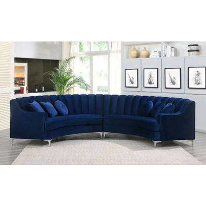 Curved sofas/blue six seater sofas for sale in Nairobi Kenya image 1