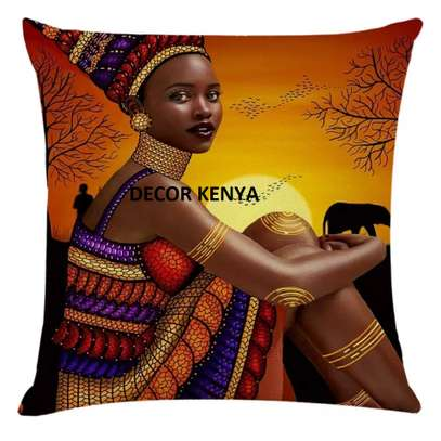 DECOR AFRICAN PRINT PILLOW CASES image 4