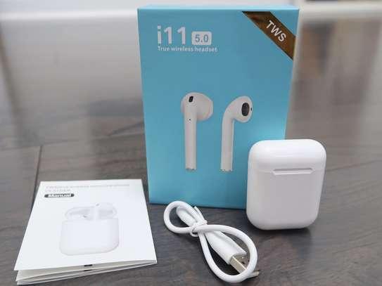 i11 TWS Wireless Bluetooth Earphones image 1