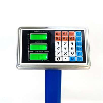 150kg Digital Electronic Price Platform Scale (Blue) image 2