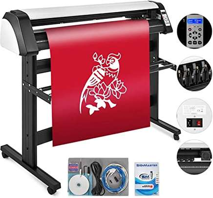 Prefessional Vinyl Cutter with contour function.