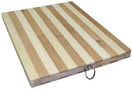 Bamboo chopping board image 1