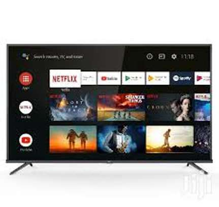 """32"""" tcl smart Android frameless HD TV image 1"""