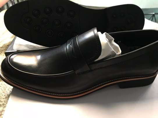 Men's Official Italian Leather Shoes with rubber sole image 5