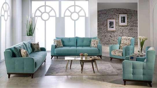 Modern three seater sofas for sale in Nairobi Kenya/Best sofa Kenya/sofa prices for sale in Nairobi Kenya image 1