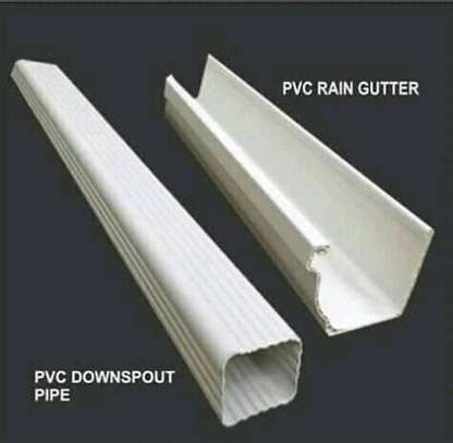 PVC Rain Gutters and Piping System image 1