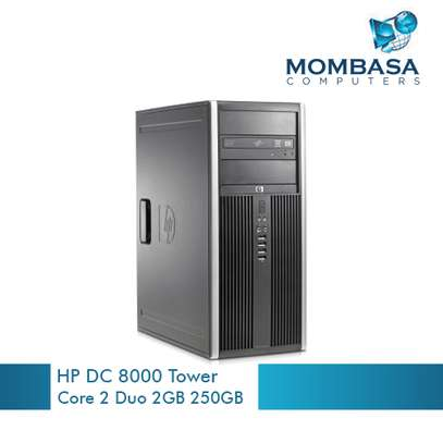 Hp Elite 8000 Tower Core 2 Duo 2GB 160GB-250GB