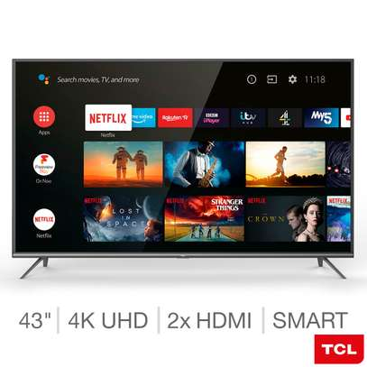 TCL 43 inch smart Android Frameless TV image 1