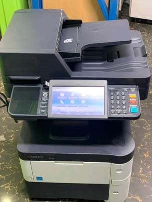 Full touch screen Kyocera ecosys M3540idn photocopier printer scanner image 1