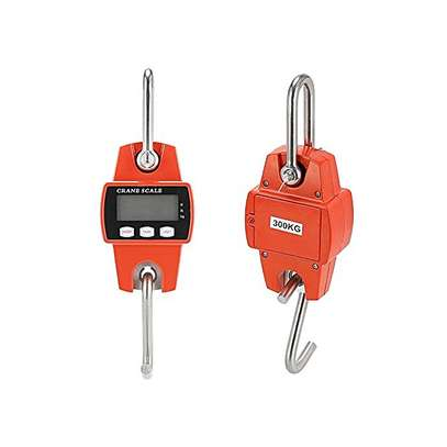 Generic 300kg Mini Industrial Crane Scale 600 LBS Digital Portable LCD Hook Hanging Weighing Luggage