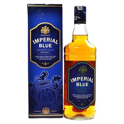 Seagrams Imperial Blue Whiskey