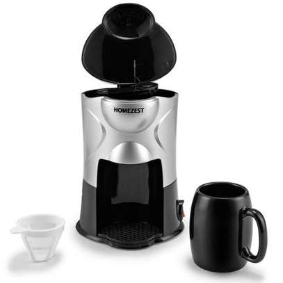 Mini Coffee Maker - Black image 2