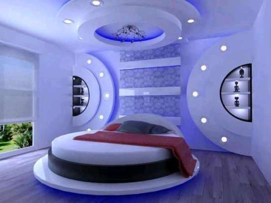 Gypsum ceiling designing and general home decorations