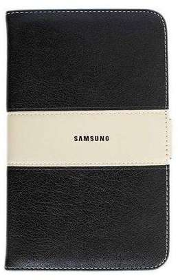 Samsung Logo Leather Book Cover Case With In-Pouch For Samsung Tab A 10.1 2019 image 1
