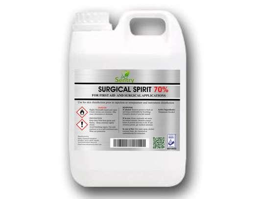 Surgical Spirit 70% - 5L - Sentry Chemicals Enterprises image 2