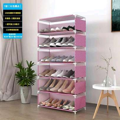 Portable shoe rack image 5
