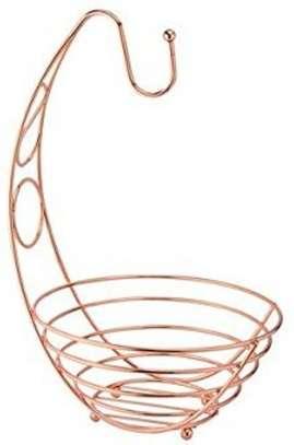 Stainless Steel Fruit Basket Holder Rack image 2