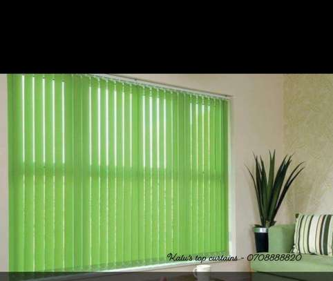 OFFICE/HOME VERTICAL BLINDS image 1